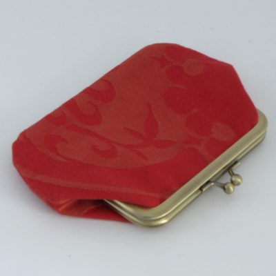 Red Kisslock Wallet /Rdeča denarnica