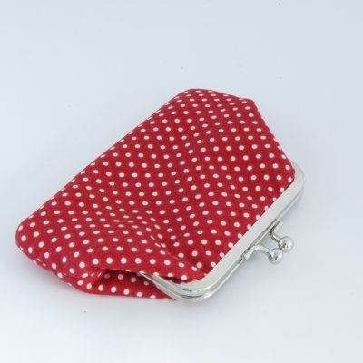 Polka dot Kisslock Wallet
