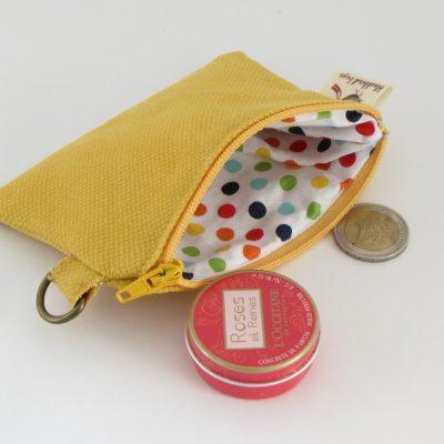 Yellow Coin Purse / Rumena Drobižnica