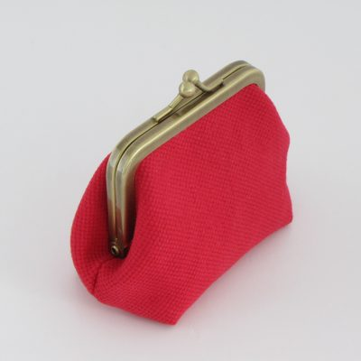 Red Coin Purse / Rdeča Drobižnica
