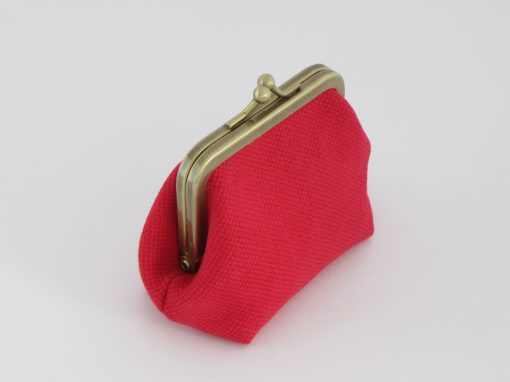 Red Coin Purse / Rdeča Drobižnica