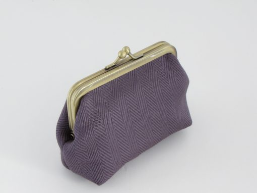 Purple coin purse / Lila drobižnica
