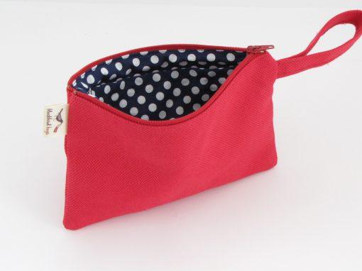 Red Makeup Purse / Rdeča torbica za makeup
