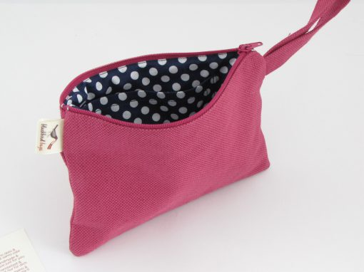 Purple Cosmetic Purse / Lila kozmetična torbica