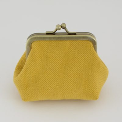 Yellow Coin Purse / Rumena drobižnica