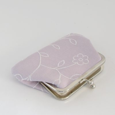 Svetlo lila denarnica / Light purple Kisslock Wallet