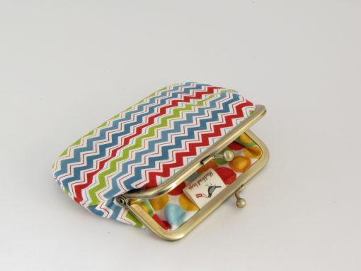 mala denarnica / kisslock wallet