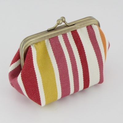 Drobižnica s črtami / Coin Purse with stripes