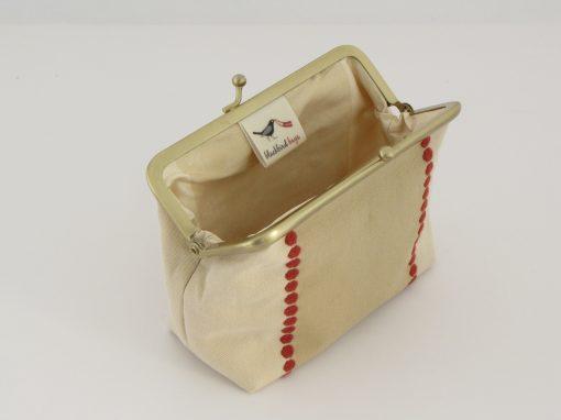 Unikatna torbica z okvirčkom / Unique Kisslock purse