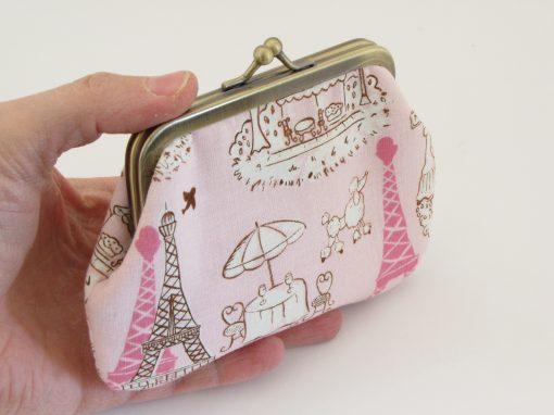 Denarnica Paris / Paris Kisslock Wallet