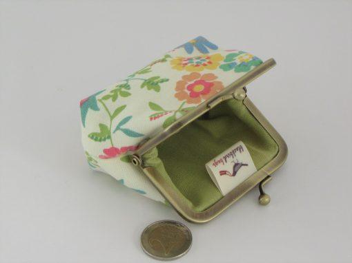 Cvetlična drobižnica / Floral Coin purse