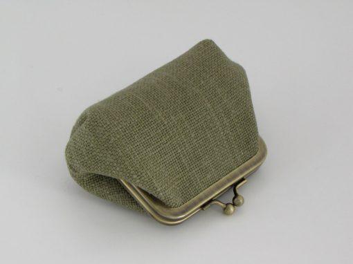 Temno zelena drobižnica / Dark green Coin purse