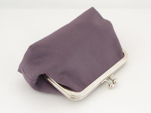 LiLa torbica z okvirčkom / Purple Kisslock purse