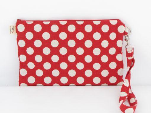 Ročna torbica s pikami / Polka-dot Purse