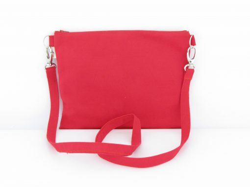 Rdeča torbica / Red Crossbody Bag