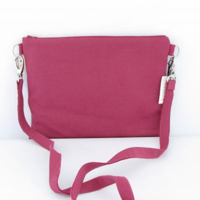 Lila, malina torbica / Pink Crossbody Bag
