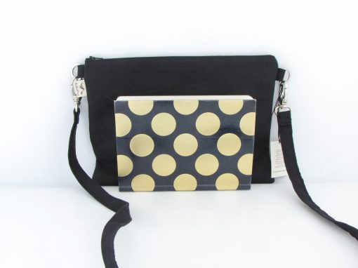 Črna torbica / Black Crossbody Bag