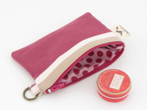Črtasta drobižnica / Coin purse with stripes