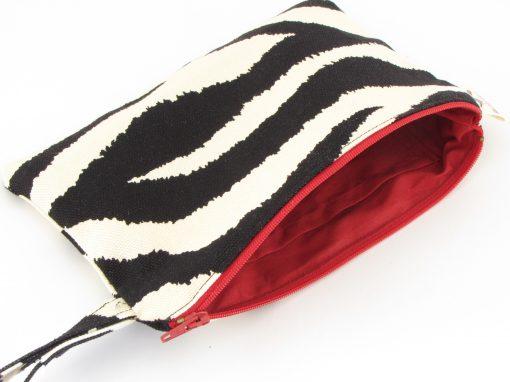 Zebra kozmetična torbica / Zebra Makeup Purse